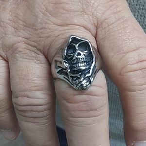 Other - Grim Reaper Ring Stainless Steel